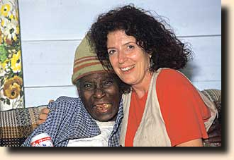 Anita Roddick with Ida
